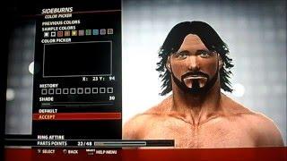 كيفية جعل AJ Styles-- WWE 2K16 (OLD GEN) pt-br