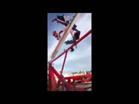 LEAKED Ohio State Fair Fireball Ride Breaks Malfunctions Children Dead Injured! Rollercoaster Crash!