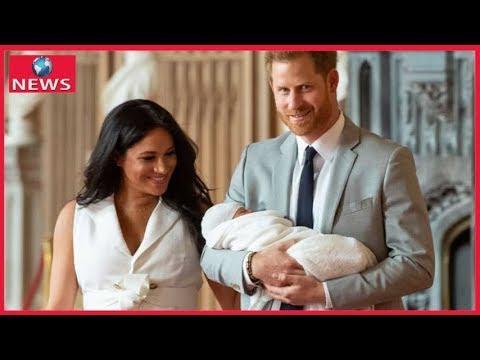 Herzogin Meghan Prinz Harry Erste Details Zu Archies Taufe