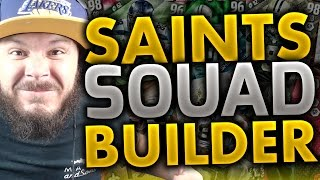 ALL-TIME NEW ORLEANS SAINTS SQUAD BUILDERS & GAMEPLAY | MADDEN 16 ULTIMATE TEAM