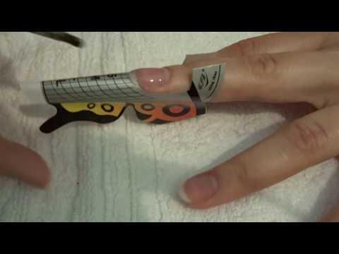 Как нарастить ногти гелем в домашних условиях самой себе видео