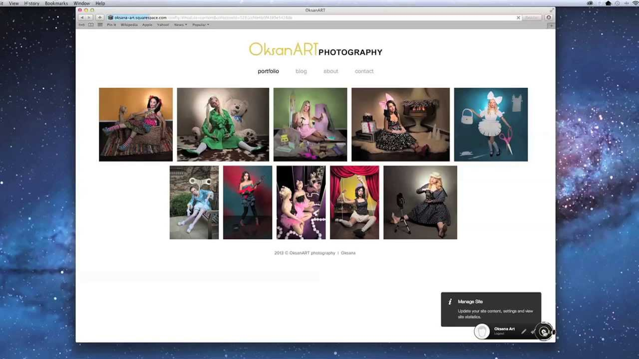 How to create your own photography portfolio website fast Where can i make a website