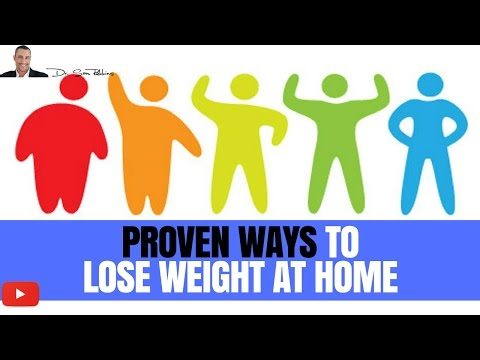 ▼ 3 Proven, Fast & Easy Ways To Lose Weight At Home – by Dr Sam Robbins