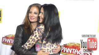 Alex Meneses and Maria Conchita Alonso at the Premiere Of Beautiful   The Carole King Musical at Pan