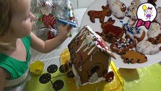 Пряничный домик рецепт на Рождество своими руками. Не пряник не домик а рождественское объедение
