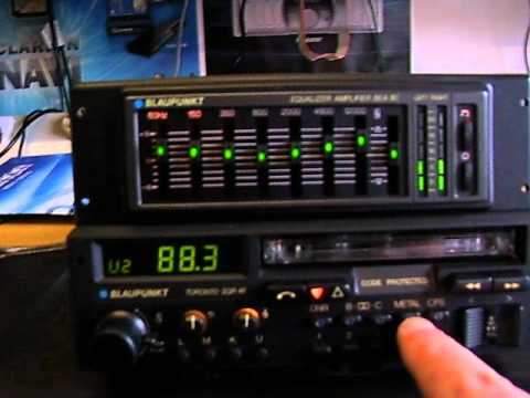 Porsche Blaupunkt Toronto Sqr 48 With Bea 80 Amplifier Eq