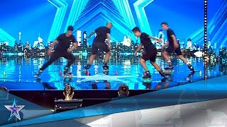 Estos ARTISTAS CALLEJEROS arrasan con sus PATINES | Audiciones 5 | Got Talent España 5 (2019)