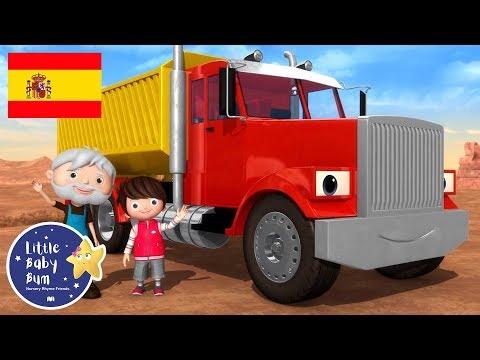 Canciones Infantiles | La Canción de los Camiones | Dibujos Animados | Little Baby Bum en Español
