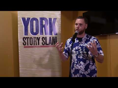 Matthew Davis - York Story Slam, February 2018