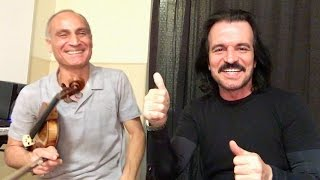 YANNI: Master Class with Samvel Yervinyan on violin