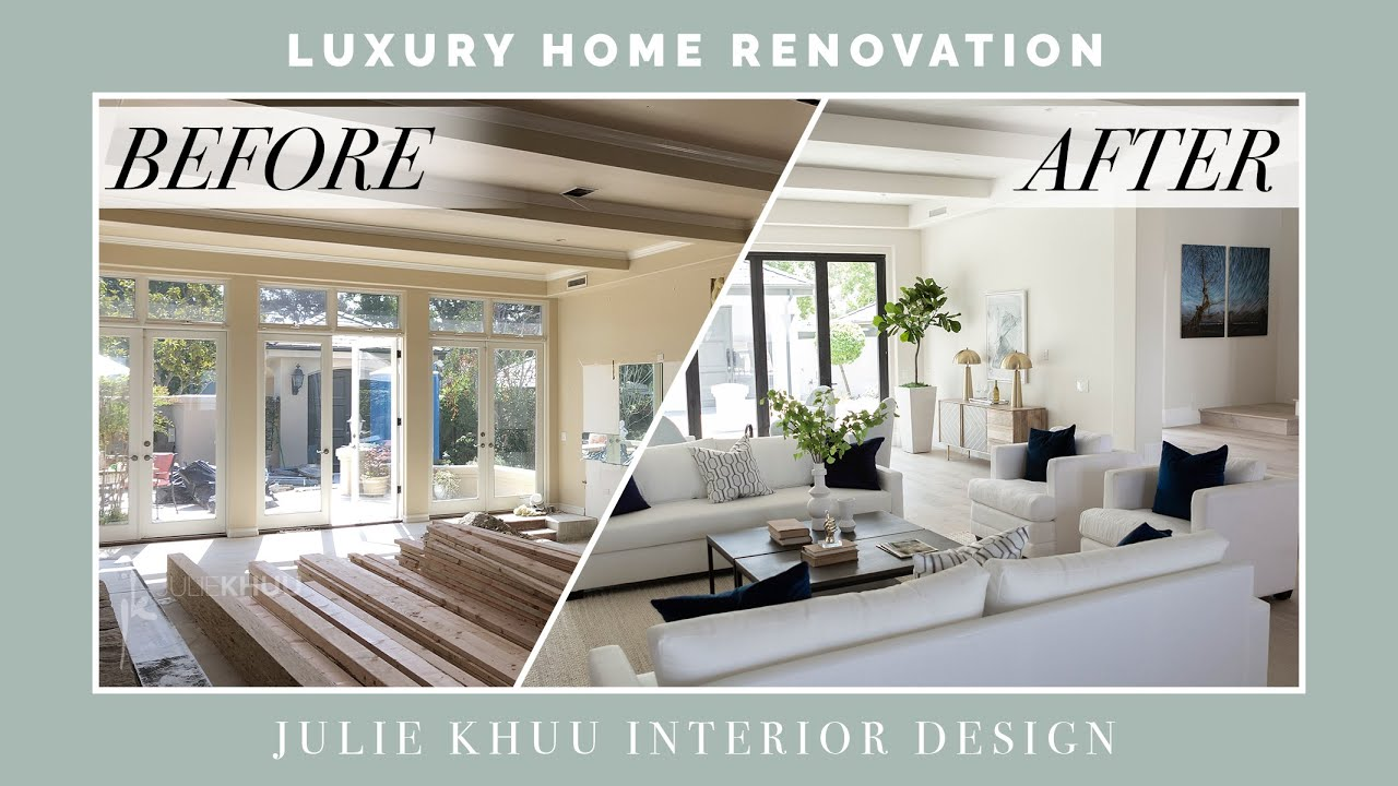 Extreme Luxury Home Makeover Renovation Before And After Tour Juli Interior Design Videos Luxury Homes Simple Interior Design
