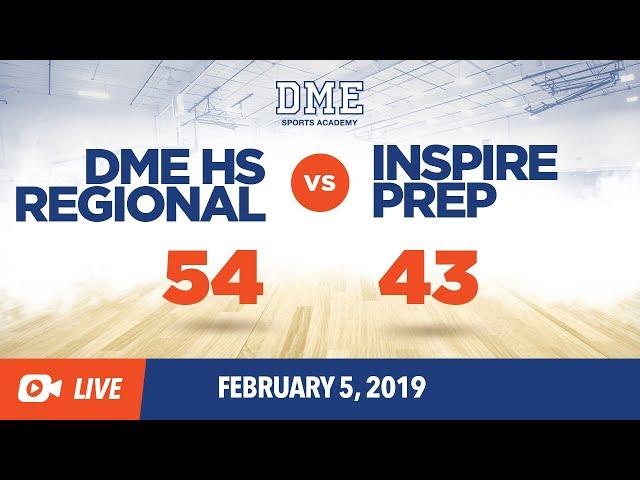 DME HS Regional vs. Inspire Prep