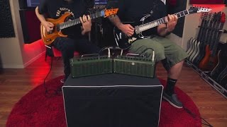 Keith Merrow and Wes Hauch- Yamaha THR10X Practice Amp Demo
