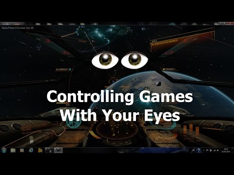 Controlling The Camera With Only My Eyes - Tobii Eyetrack 4C