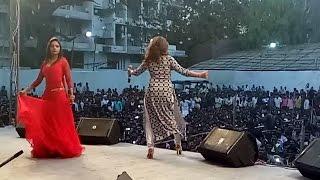 Nisha Dubey - Live Stage Performance Part 01   At Kandiwali 2017