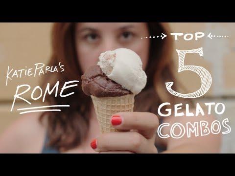 Katie Parla's Rome: Top 5 Gelato Combos