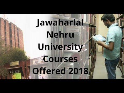 JNU University   Jawaharlal Nehru University Courses Offered