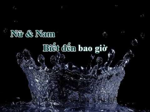 Chỉ Là Mộng Phù Du (An Lệ Thanh) -  Hoàng Nhung, Trần Phương (Karaoke)