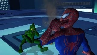 Spider-Man: Friend or Foe - Walkthrough Part 4 - Oscorp Japan: Spider-Man Vs. Green Goblin