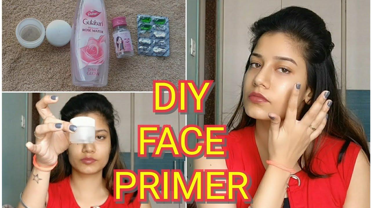 DIY Face Primer for Oily & Dry Skin | Just 2 Ingredients | Simple & Easy | MakeupLoverSejal