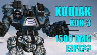 Kodiak KDK-3 Putting Up Big Numbers - MechWarrior Online