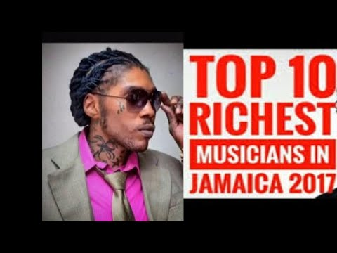 Jamaica Top Ten 10 Richest Dancehall Reggae Artist 2017
