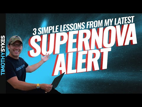 3 Simple Lessons From My Latest Supernova Alert