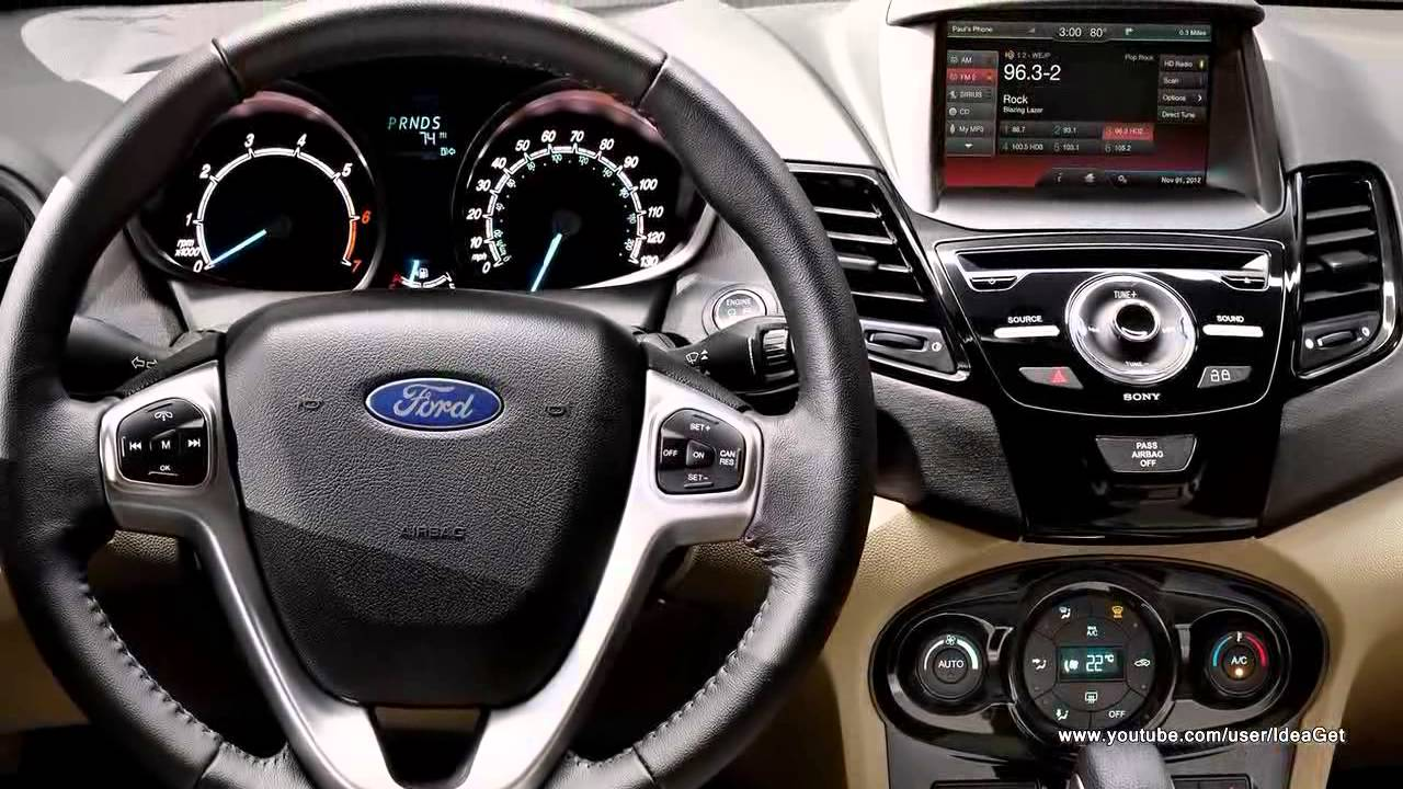 2014 Ford Fiesta Hatchback Interiors And Exteriors Youtube