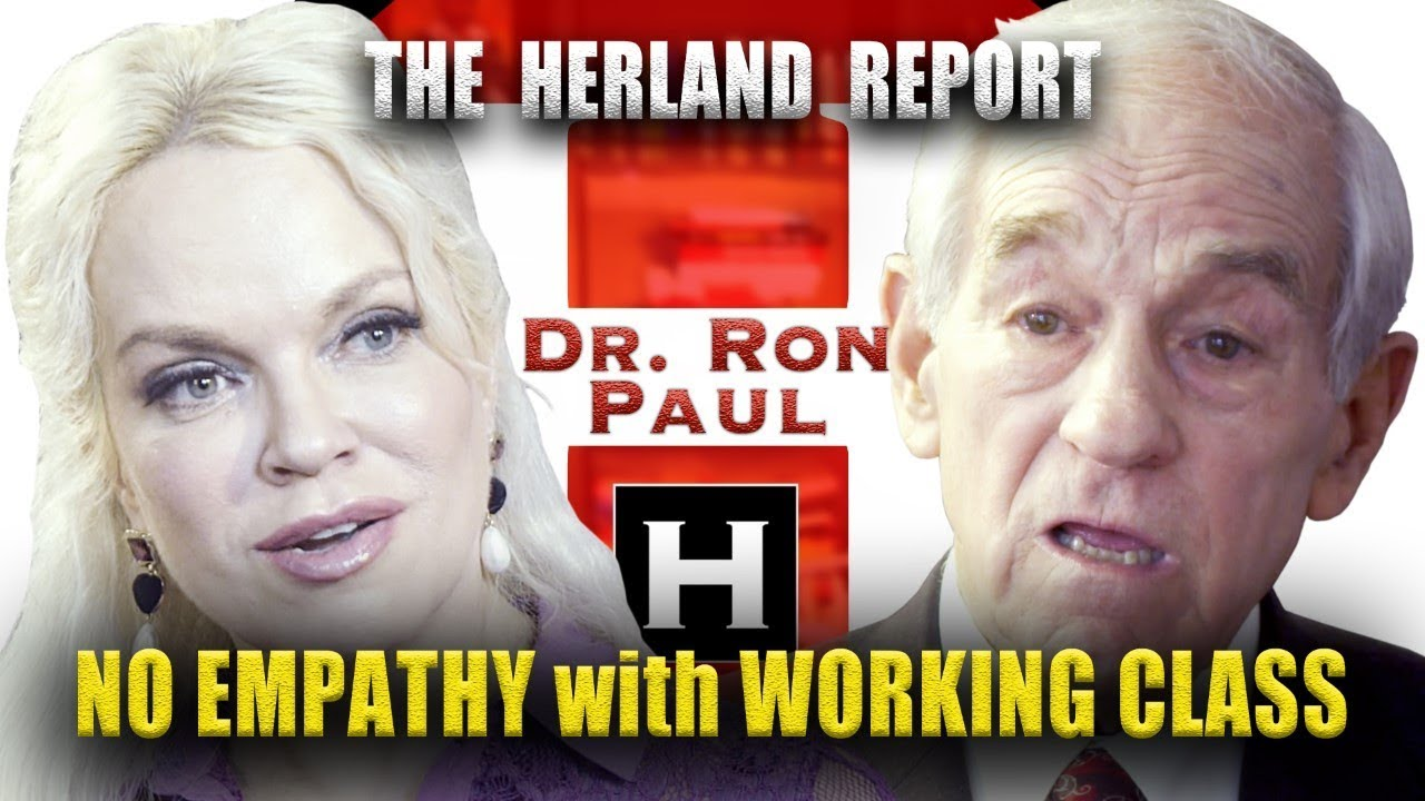 Dr  Ron Paul exclusive on Herland Report TV on YouTube: The elites
