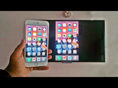 Screen Mirroring With IPhone (Wirelessly - No Apple TV Required) 2017 HD