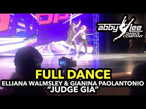 Dance Moms - Elliana Walmsley & GiaNina Paolantonio - Judge Gia ( S8. Ep8 )