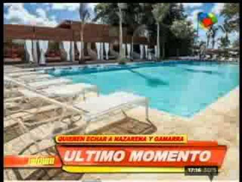 Echaron a Nazarena Vélez del hotel donde pasaba sus vacaciones con Gamarra