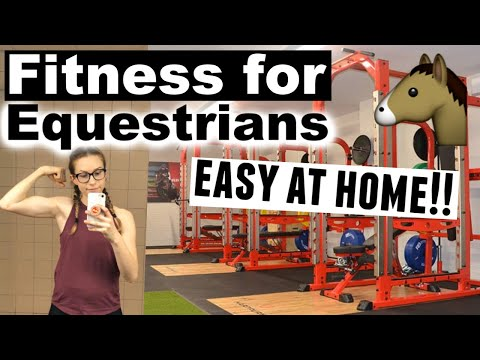 EQUESTRIAN Workout Routine | Rider Fitness at Home *NO EQUIPMENT* | Ride Every Stride