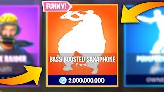 These Fortnite Emotes Sound Better *BASS BOOSTED*..!