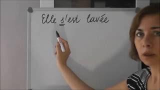 Французский с нуля, местоименные глаголы