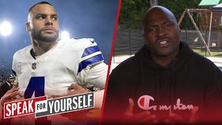 Wiley believes the theory that Dallas wants Dak to settle for less money   NFL   SPEAK FOR YOURSELF