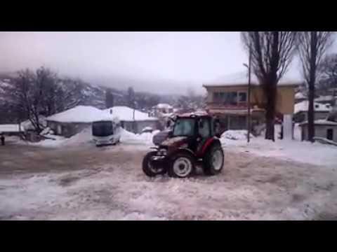 Denizli Çameli'de Traktörle Drift Şov