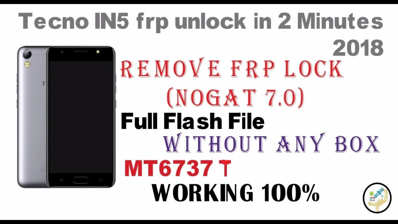 Tecno camon IN5 Stock Farmware Flash File (Frp unlock) - Official Roms