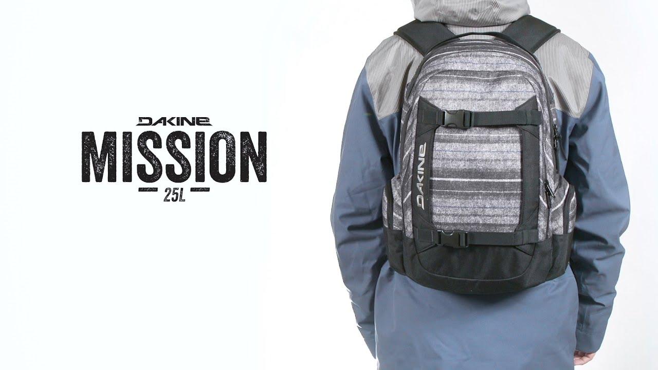 Dakine Mission Backpack - YouTube