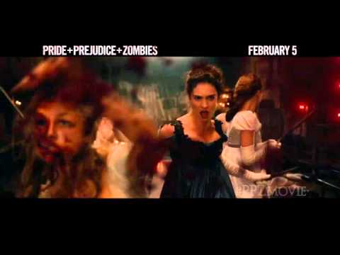 Pride and Prejudice and Zombies Official 'Bloody Good' Trailer 2016   Lily James Horror Movie HD
