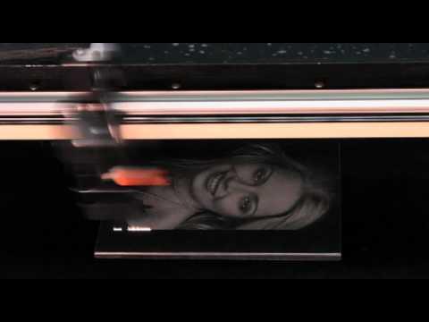 Vytek Fx3 Laser System Engraving Black Marble Youtube