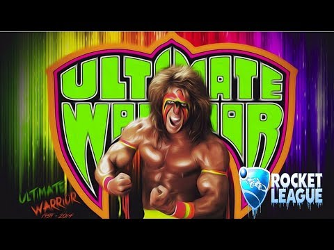 Rocket League - Ultimate Warrior Goes To The Beach!