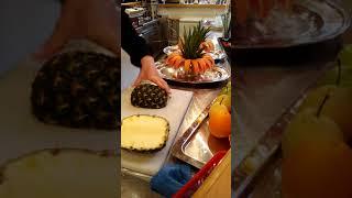Ассорти из фруктов хитрая нарезка