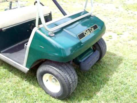 a 1998 club car golf cart 5 22 10mov
