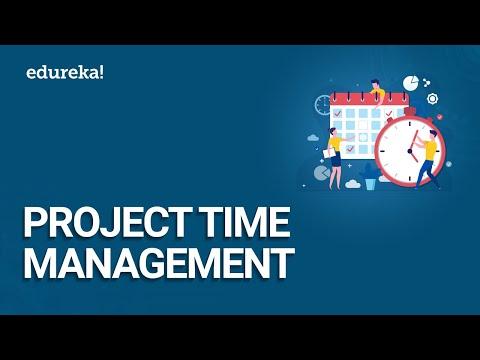 Project Time Management | Project Schedule Management | PMP Certification Training | Edureka