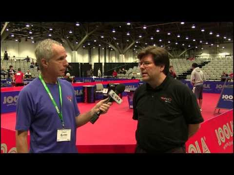 Interview with Dennis Davis - 2012 US National Table Tennis Championships