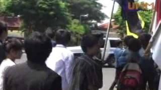 Demo Peringati 1 tahun Pemerintahan SBY-Boediono.flv