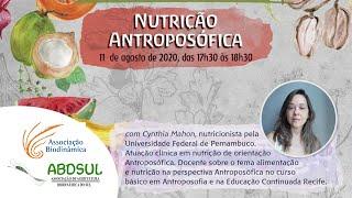 Nutrição Antroposófica comCynthia Mahon [CONVERSAS BIODINÂMICAS]