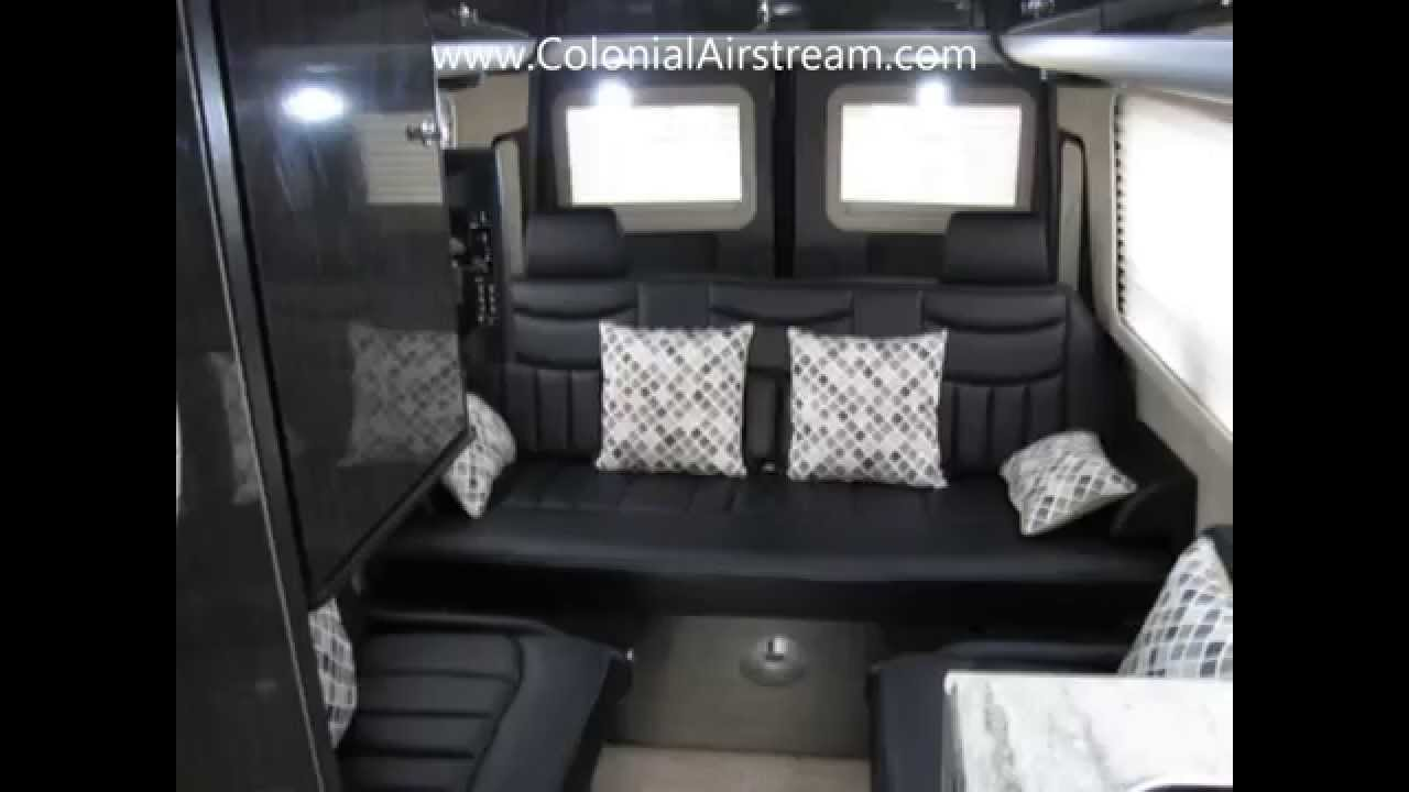 2013 Airstream Interstate Ext Lounge Black With Interior Mercedes Benz Sprinter Conversion RV