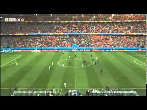 Spain vs Netherlands Highlights - Brazilian World Cup 2014